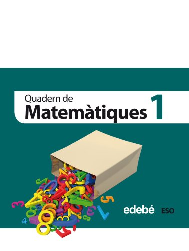 Quadern 1. Matemàtiques 1 Eso - 9788468301334