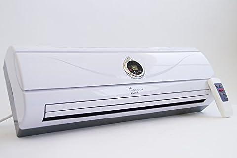 Chauffage Split PTC céramique avec écran LED, Puissance 1000W/2000W