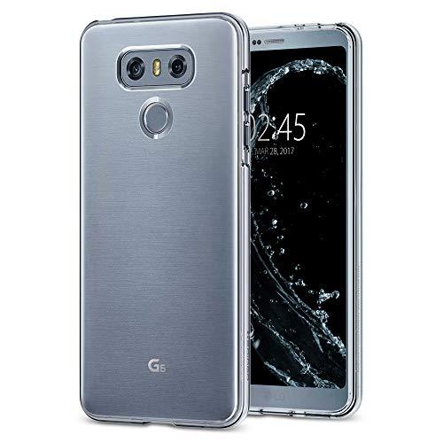 Spigen Coque LG G6, [Liquid Crystal] Transparente [Crystal Clear] Bumper, Anti-Choc, Souple, Adhérence Parfaite, Coque Housse Etui LG G6 (A21CS21229)