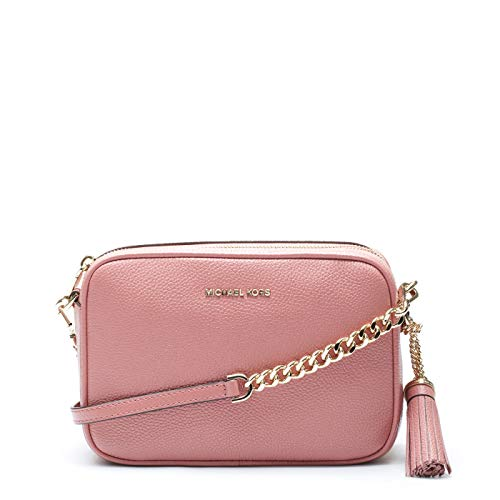 Michael Kors Leather Damen Cross Body Bag Pink