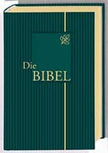 Bibelausgaben, Die Bibel, nach der Übersetzung Martin Luthers, mit Apokryphen, Ledereinband grün m. Goldprägung (Nr.1534)