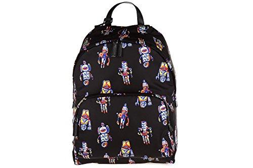 Prada-mens-Nylon-rucksack-backpack-travel-robot-black