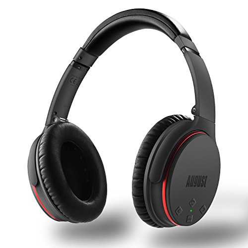 8f5a3ec28ef Active Noise Cancelling Bluetooth Headphones - August EP735 - ANC ...