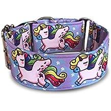Galguita Amelie - Collar martingale antiescape para perros de todo tipo de raza - 5cm de