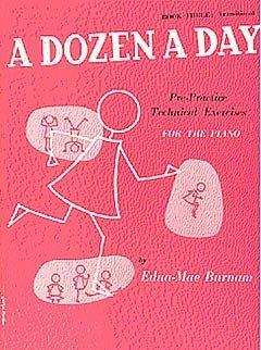 Ein Dutzend am Tag 3 - arrangiert für Klavier [Noten / Sheetmusic] Komponist: Burnam Edna Mae