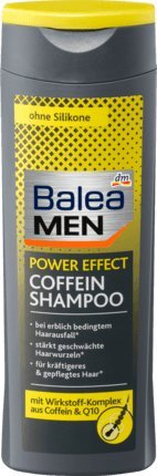 Balea MEN Shampoo Coffein power effect, 250 ml