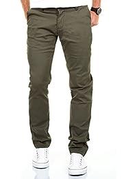 MERISH Chino Hose Herren Slim Fit Stretch Stoffhose Modell 168