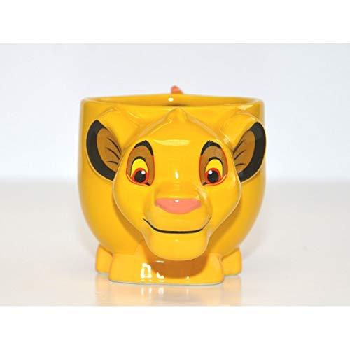 Disney Paris Simba from The Lion King Grande Tasse 3D