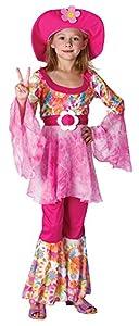 Bristol Novelty CC907 Traje Diva Hippie, Pequeño, Edad aprox 3-5 años