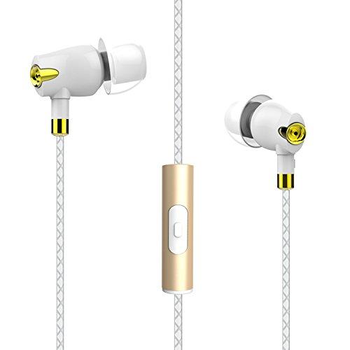 Boat Nirvaanaa Bliss In-Ear earphone with Mic ( Glazy White )