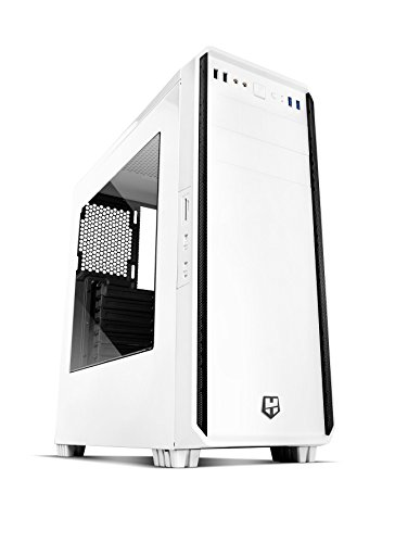 Nox-NXHUMMERZSZ-Caja-de-ordenador-Midi-Tower-1x-120-mm-ABS-Synthetik-SPCC-ATX-color-blanco