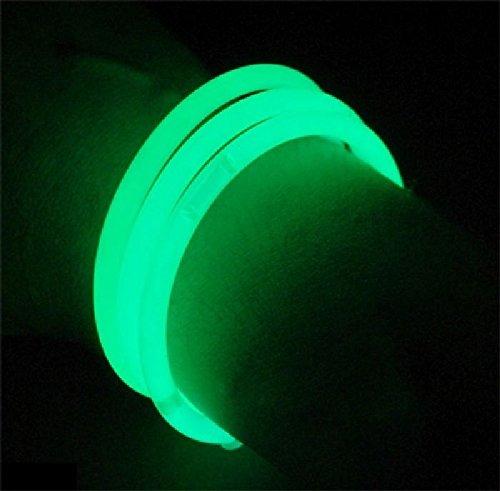 Mondial-Fete - 100 Bracelets Fluo Vert