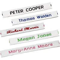 36 Woven Sew-on Name Labels for School Uniform (Pre-cut) Name Tapes/Tags