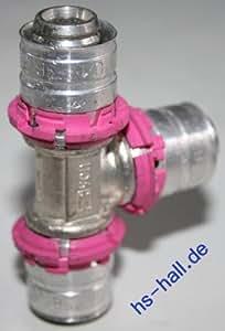 Uponor Press T-Stück 18-18-18 Pressfitting Unipipe