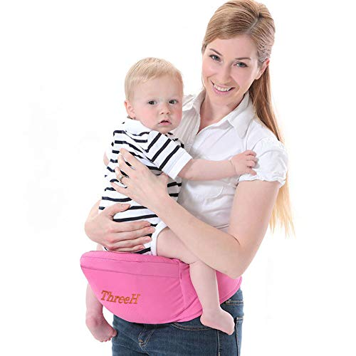 ThreeH Supporto per seggiolone per bambini al neonato del cinturino per bambini BC10,Pink