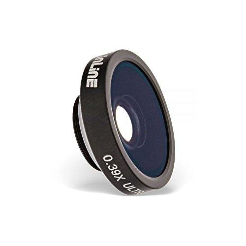 InLine 55490 Smartphone Aufsteck-Objektiv Ultra Wide 0.39x mit Macro 6X schwarz -