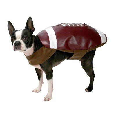 Im Kopf Fußball Kostüm - Fußball Hund Kostüm-Set-Mittel-Stiefel & barkley153;