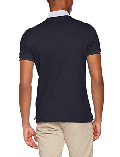 Conte of Florence Herren Poloshirt Cleek Little Ss 17e Blau