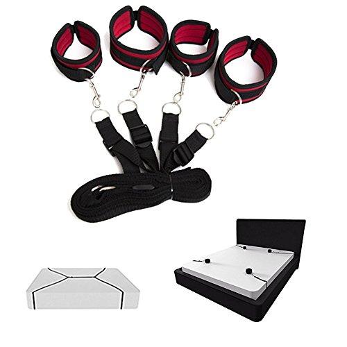Unterbett-Fesseln, Übungsbänder für Paare, Spiele zum Junggesellinnenabschied.