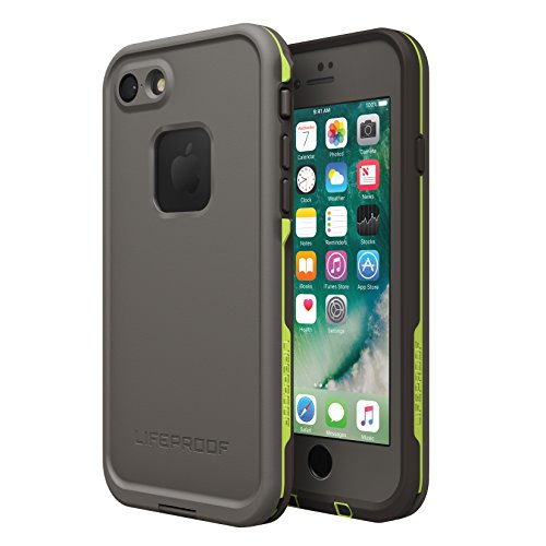 LifeProof Fre Custodia per iPhone 7, Nero Asfalto Grigio