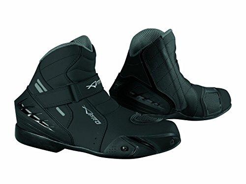 A-Pro Scarpa Scarpette Moto Stivaletti Sport Motociclita Protezione Sliders Nero 43