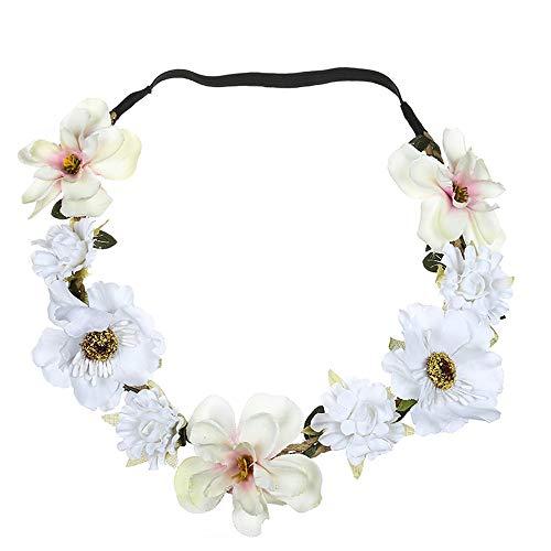 d6acbc91e6d7fb Neu Garland Damen Simulation Blumen Haarband Stirnband Kopfband, LEEDY  Tanzparty Party Geschenk Neuheit Blume Muster