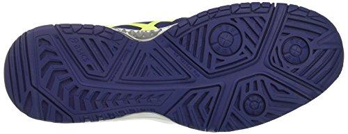 Asics Gel-Challenger 11, Scarpe da Ginnastica Uomo Blu (Indigo Blue/Safety Yellow/Silver)