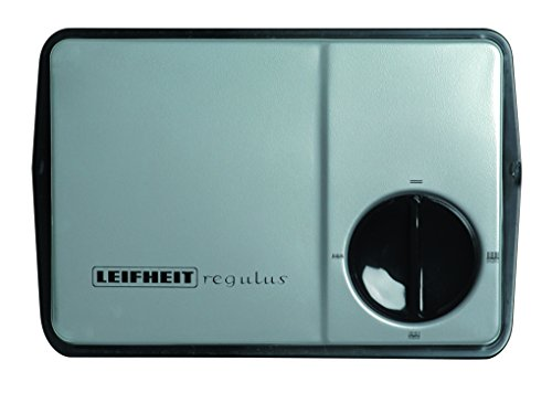 Leifheit 11706 Regulus - Escoba para alfombras, 22 cm, color negro y plata