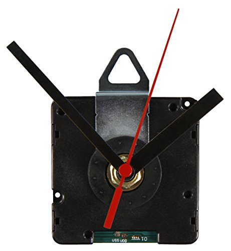 Funk-Quarzuhrwerk FQU-5005, inkl. 3 verschiedenen Metall-Zeigersätzen