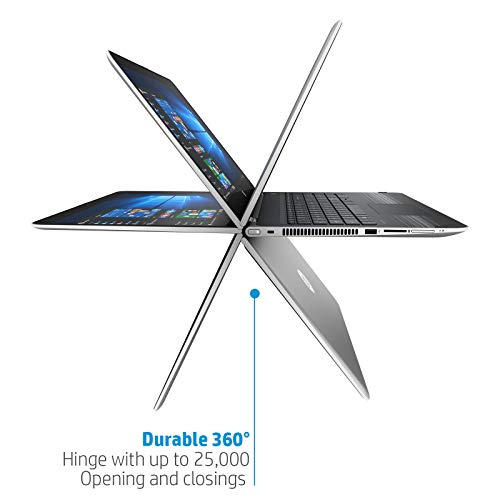 HP Pavilion x360 Core i5 10th Gen 14-inch FHD Touchscreen 2-in-1 Alexa Enabled Laptop (8GB/256GB SSD+1TB HDD/Windows 10/MS Office/Inking Pen/FPR/Natural Silver/1.59 kg), 14-dh1011TU Image 4
