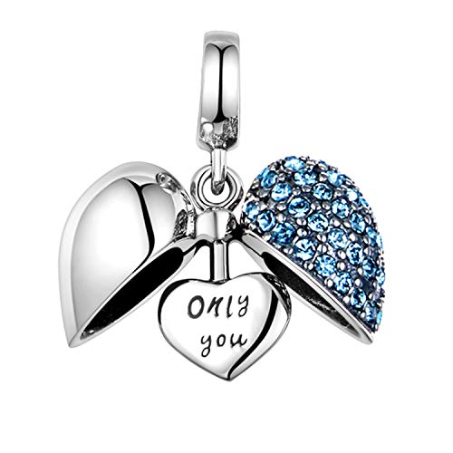 Gw charms amore beads da donna argento sterling 925 adatto per bracciale pandora …