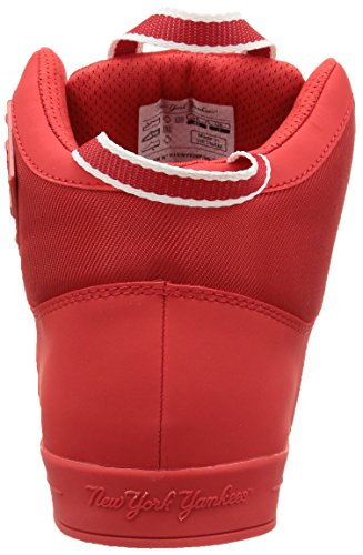 New York Yankees Ryokan, Sneakers Hautes homme Rouge (702/Nyy Red/White)