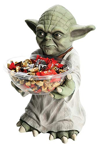 ßigkeitenspender, Star Wars, Yoda Figur, Süßigkeitenhalter, Süßigkeitenschale, Höhe: 50 cm ()