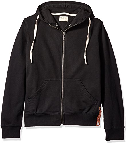 nudie-jeans-co-elvin-light-zip-hoody-black-extra-large