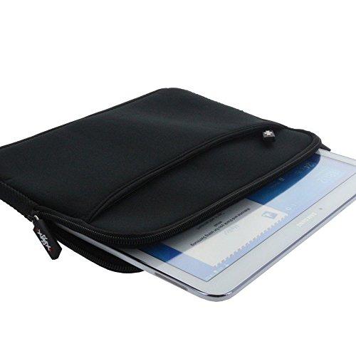 Smart-Planet® hochwertige Neopren Tablet Laptoptasche – Notebook Tasche für Geräte bis 11,6 Zoll 32 x 21,5 cm - Tablet PC Hülle/Sleeve z.B. Medion Akoya E2215T - in schwarz