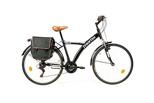 Moma Bikes Bicicleta Paseo Hibrida SHIMANO 18 vel....