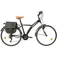 Moma Bikes Bihybnun Vélo de Ville Mixte Adulte, Noir