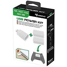 Subsonic - Kit de chargement sans fil pour Manette Xbox One - blanc