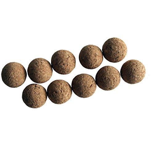 Set de balles en liège pour baby-foot