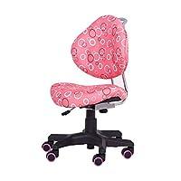 EFurnit Full-Backrest Series Ergonomic Adjustable Desk Chair for Kids, with Wide Base & Lockable Castors
