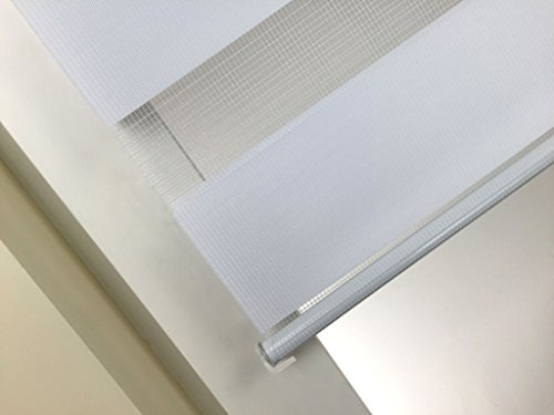 Doppelrollo Weiß SUNWORLD - 9