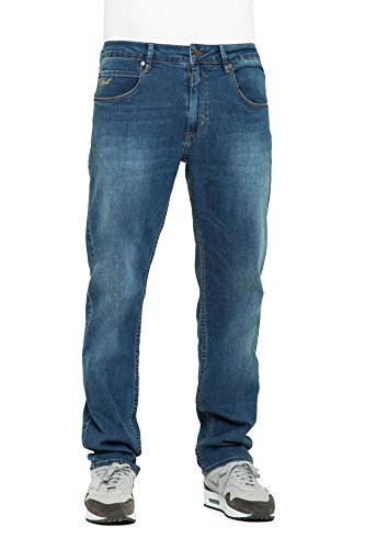 REELL Men Jeans Lowfly Artikel-Nr.1107-002 - 01-001 Mid Blue Denim