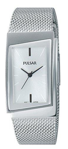 Pulsar Reloj Mujer de Analogico con Correa en Chapado en Acero Inoxidable PH8221X1