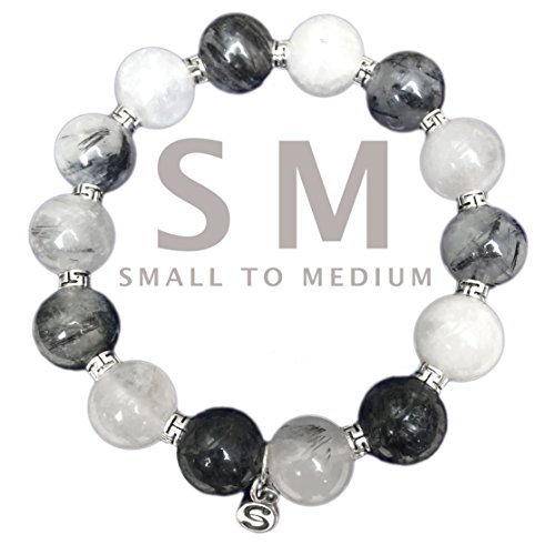 apoccas-semi-precious-crystal-bracelet-mycen-925-sterling-silver-tourmaline-quartz-grey-12-mm-diamet