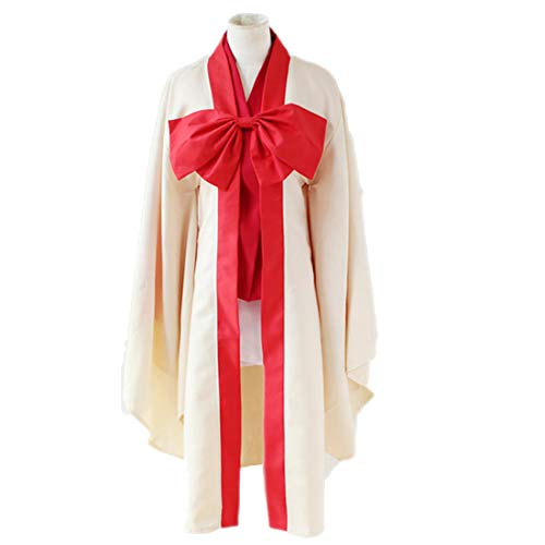 YKJ Anime Kein Spiel Kein Leben Warbeast Hatsuse Izuna Cosplay Kostüme Vollen Satz Japanischen Kimono Halloween Party Kleid,Full Set-L Kimono-kleid-set