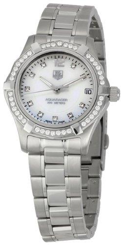 TAG Heuer WAF1313.BA0819 - Reloj de Pulsera Mujer, Acero Inoxidable, Color Plata
