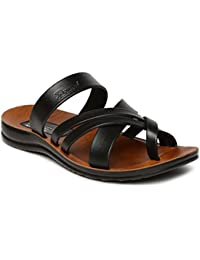 PARAGON Vertex Men's Black Flip-Flops