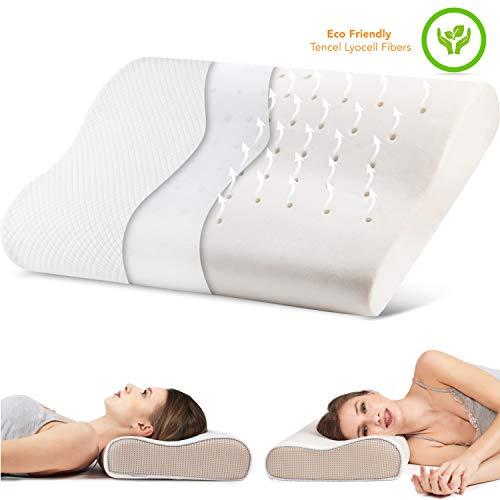 Soft & Kind Contour Memory Foam Pillow Best...