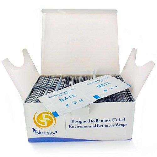 Bluesky UV- und Gel-Nagellack-Entferner-Pads,200Stück