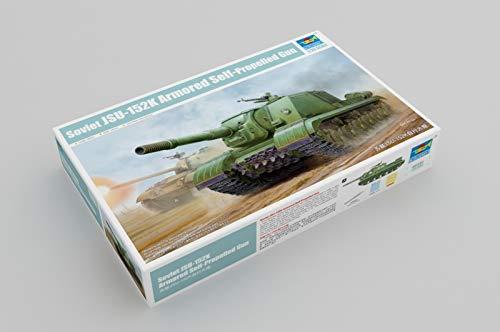 Trumpeter 05591-Maqueta de Soviet jsu de 152K Armored de Self Propelled Gun